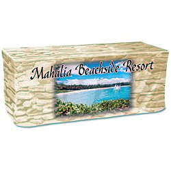 View a larger, more detailed picture of the Economy Closed-Back Fitted Table Cover - 6 - Full Color