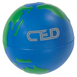 View a larger, more detailed picture of the Global Design Stress Ball - 24 hr