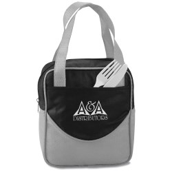 View a larger, more detailed picture of the Non Woven Mini-Dot Lunch Bag