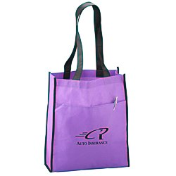 View a larger, more detailed picture of the Peak Tote with Pocket