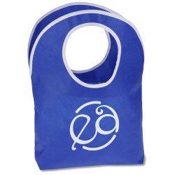 View a larger, more detailed picture of the Polypropylene Hobo Tote - Classic - 24 hr
