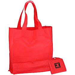 View a larger, more detailed picture of the Foldable Shopper Tote