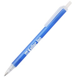 View a larger, more detailed picture of the Value Click Pen - Translucent - 24 hr
