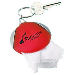 View a larger, more detailed picture of the Microfiber Key Tag