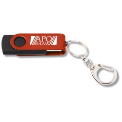 View a larger, more detailed picture of the Swing USB Drive - Color - 8GB