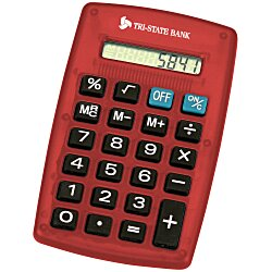 View a larger, more detailed picture of the Classic Calculator - Translucent - 24 hr
