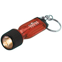 View a larger, more detailed picture of the Mini Flashlight Tool - Translucent - 24 hr