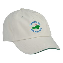 View a larger, more detailed picture of the Sandwich Bill Cap - Solid Color - Closeout Colors