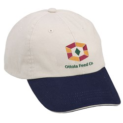 View a larger, more detailed picture of the Sandwich Bill Cap - Two Tone - Closeout Color