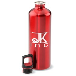 View a larger, more detailed picture of the h2go Classic Stainless Steel Sport Bottle - 24 oz - 24 hr
