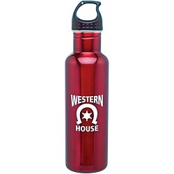 View a larger, more detailed picture of the h2go Bolt Stainless Steel Sport Bottle - 24 oz - 24 hr