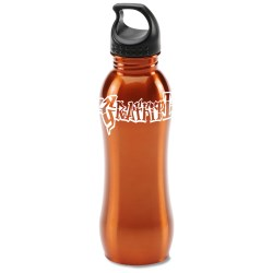 View a larger, more detailed picture of the h2go Balance Stainless Steel Sport Bottle - 24 oz - 24 hr
