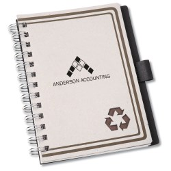 View a larger, more detailed picture of the Augusta Notebook - Closeout