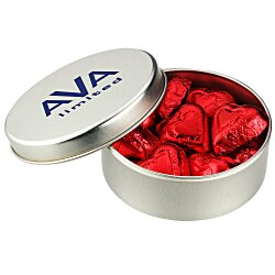 View a larger, more detailed picture of the Chocolate Hearts Tin
