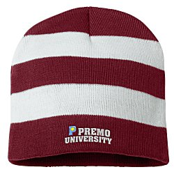 View a larger, more detailed picture of the Rugby Knit Beanie
