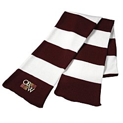 View a larger, more detailed picture of the Rugby Knit Scarf
