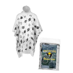 View a larger, more detailed picture of the Pronto Rain Poncho - Sport Balls - Closeout