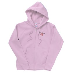 View a larger, more detailed picture of the Hanes Full-Zip Ladies Hoodie - Embroidery