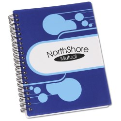 View a larger, more detailed picture of the Paint Splash Notebook