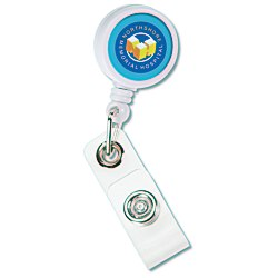 View a larger, more detailed picture of the Mini Retractable Badge Holder