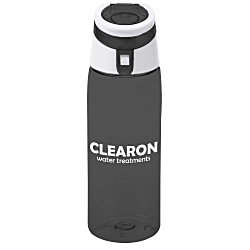 View a larger, more detailed picture of the Tritan Flip Top Sport Bottle - 24 oz
