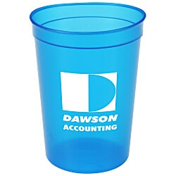 View a larger, more detailed picture of the Translucent Stadium Cup - 12 oz