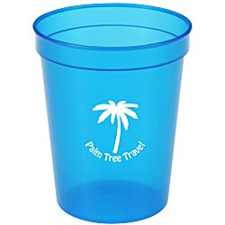 View a larger, more detailed picture of the Translucent Stadium Cup - 16 oz 