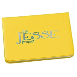 View a larger, more detailed picture of the Fold-over Adhesive Notes Pad - Opaque