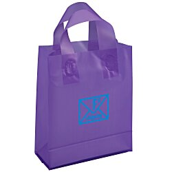 View a larger, more detailed picture of the Soft-Loop Frosted Shopper - 10 x 8 