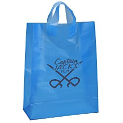 View a larger, more detailed picture of the Soft-Loop Frosted Shopper - 17 x 13