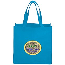 View a larger, more detailed picture of the Celebration Shopping Tote Bag - 13 x 13 - Full Color
