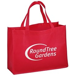 View a larger, more detailed picture of the Celebration Shopping Tote Bag - 12 x 16 - 18 Handles