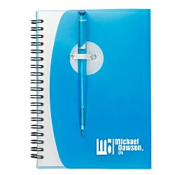 View a larger, more detailed picture of the Sun Spiral Notebook - 24 hr