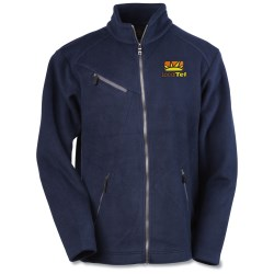 View a larger, more detailed picture of the North End Bonded Jacquard Fleece Jacket - Men s