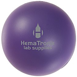 View a larger, more detailed picture of the Solid Color Stress Ball - 24 hr