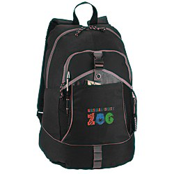 View a larger, more detailed picture of the Escapade Backpack - Embroidered