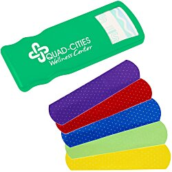 View a larger, more detailed picture of the Kidz Bandage Dispenser Opaque - Colors - 24 hr