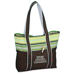 View a larger, more detailed picture of the West Hampton Tote - Stripes