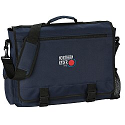 View a larger, more detailed picture of the 4imprint Business Attache - Embroidered