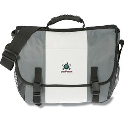View a larger, more detailed picture of the 4imprint Messenger Bag - Embroidered