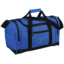 View a larger, more detailed picture of the 4imprint Leisure Duffel - Embroidered - 24 hr