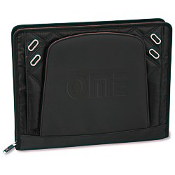 View a larger, more detailed picture of the elleven Zippered Padfolio