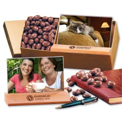 View a larger, more detailed picture of the Photo Frame w Almonds