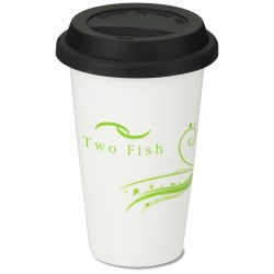 View a larger, more detailed picture of the Terra Coffee Cup - 11 oz - Eco