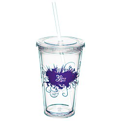 View a larger, more detailed picture of the Spirit Tumbler - 16 oz - Burst