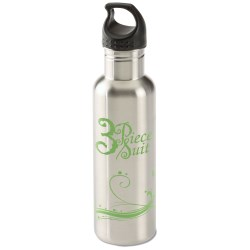 View a larger, more detailed picture of the h2go Bolt Stainless Bottle - 24 oz - Eco