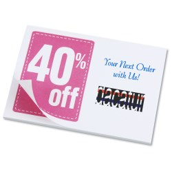 View a larger, more detailed picture of the Post-it&reg Discount Coupons - 3 x 4 - 25 Sheet - 40
