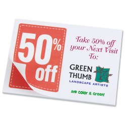 View a larger, more detailed picture of the Post-it&reg Discount Coupons - 3 x 4 - 25 Sheet - 50
