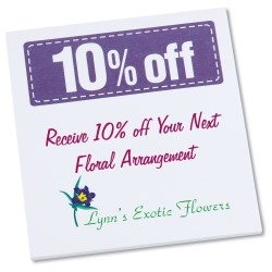 View a larger, more detailed picture of the Post-it&reg Discount Coupons - 3 x 2-3 4 - 25 Sheet - 10 