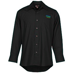 View a larger, more detailed picture of the Broadcloth Value Shirt - Men s - Solid - 24 hr